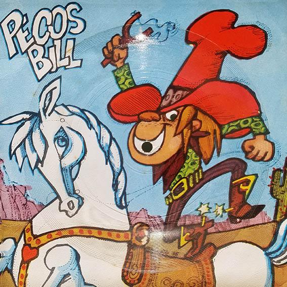 Pecos Bill - Tapa