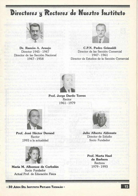 50 años Instituto Privado Tucumán