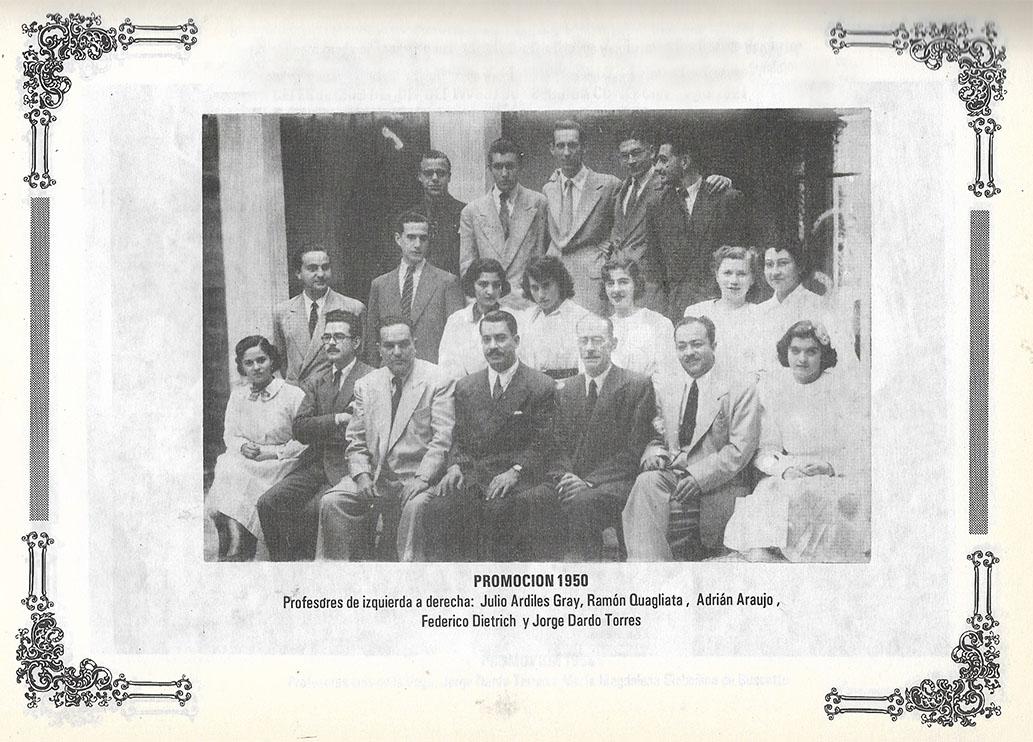Promoción 1950 Instituto Privado Tucumán